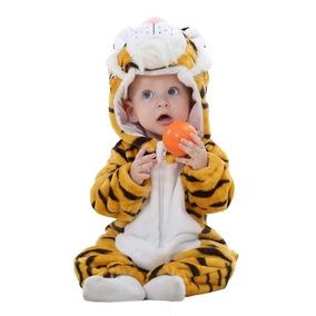 Macacão Bebê Bichinhos Animais Fantasia Algodão Var. Modelos
