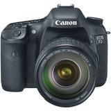 Canon Eos 7d Cámara Digital Slr De 18 Mp Cmos Con Lentes...
