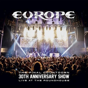 Europe The Final Countdown 30th Anniversary Show 2 Cds+bd