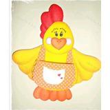 Detalles En Foami Para La Cocina (gallina, Vaca, Abejita)