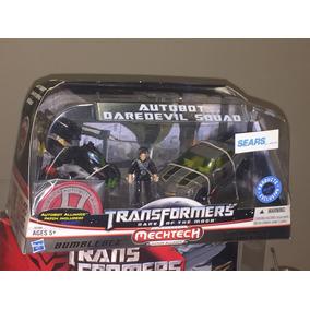 Transformers Dotm Mech Tech Human Alliance Daredevil Squad
