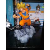 Goku Anime Super Saiyajin Pose De Batalla (envio Gratis)
