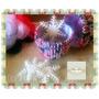 Pirotines Navideños Numero Nº 10 X 50 Unid. Blancos Cupcakes