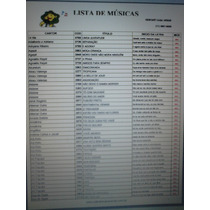 Lista De Musicas De Todos Os Modelos Videoke Karaoke Raf