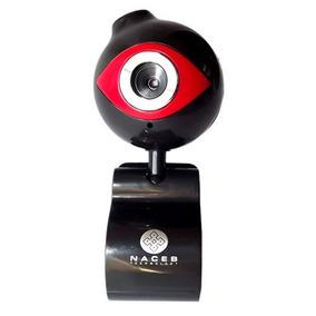 Webcam Naceb Imagen Vga Resolucion 720p Usb 0.3mpx Negro