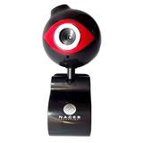 Webcam Naceb Na-075 Vga Resolucion 720p Usb 0.3mpx Negro