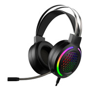 Audifonos Vak G08 Gamer Gaming Aux Usb Microfono Led Colores