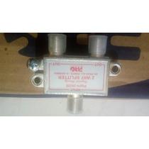 Caixa Com 25 Divisores Pro Eletronic Vhf/uhf/ Ku