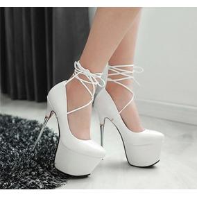 Sapato Salto Alto Feminino Importado Luxo