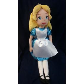 Muñeca De Peluche Alicia En El Pais De Las Maravillas 40cm
