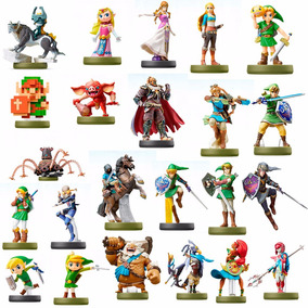 Kit 23 Amiibo Link Zelda Breath Of The Wild - Sob Encomenda