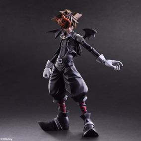 Kingdom Hearts 2 Sora Halloween Town Play Arts Figura Nueva