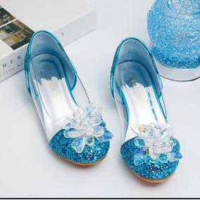 Zapatos Zapatillas Niña Cenicienta Importados Cinderella