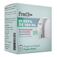 Bloqueador De Odor Sanitário Freecô 500ml Original Refil