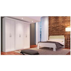Guarda-roupa Herval Ph1675 6 Portas - Branco