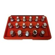 Kit Extractor Tapones Carter Eurotech Bulones 17 Piezas Caja