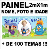 Galinha Pintadinha Faixa Decorativa Festa Criança Willp14