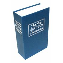 Caja Fuerte Simulada Libro Cofre Porta Valores 240x160x60mm