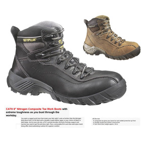 Botas Caterpillar - Cat Nitrogen-ct Protecciones En Carbono