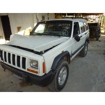Sucata Jeep Cherokee 4.0l Gasolina 1998 Vendo As Peças!