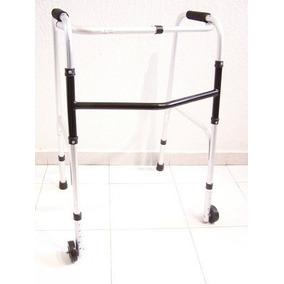 Andadera Ortopedica Económica De Aluminio Con Ruedas