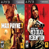Max Payne 3 + Red Dead Redemption Ps3 - Digital