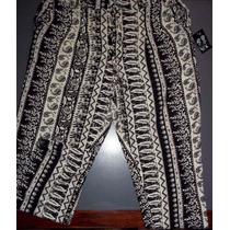 Pantalon Estampado Fibrana.talle 4.nuevo!!! Vivimar7
