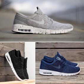 Nike Air Max Janoski - Negra - Azul - Gris