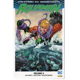 Aquaman 04 Renascimento - Panini 4 - Bonellihq Cx117 E18