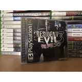 Resident Evil 3 Nemesis - Excelente Estado - Ps1