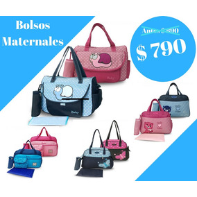 Bolso Maternal Impermeable Y Lavable - Hermoso!
