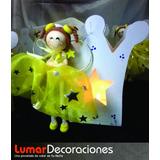 10 Souvenirs Comunión - Porta Vela Con Angelitas Porcelana F