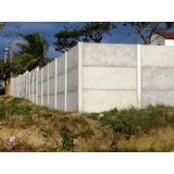 Muro De Placas De Concreto