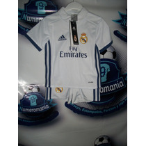Conjunto Bebe Original Adidas Real Madrid España 2016-2017
