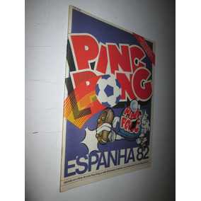 Álbum Ping Pong Copa 82 Espanha 82 Vazio Estado De Banca !!!