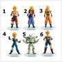 Boneco Dragon Ball Z Goku Vegeta Trunks Gogeta - Cada