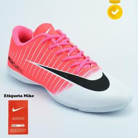 Chuteira Nike Mercurial Feminina Futsal V6 Tênis De Quadra