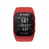 Reloj De Los Deportes Inteligente Gps M400 Polar, Rojo