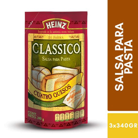 Salsa Pastas Sabor Cuatro Quesos Doypack 340g Heinz