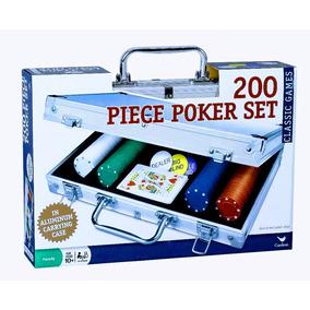 Set De Poker 200 Fichas Maletin Texas Hold + Envio Gratis