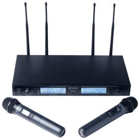 Krieg K8300-set Sistema Inalámbrico Dos Micrófonos De Mano