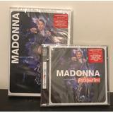 Combo Madonna Rebel Heart Tour 2 Cds + Dvd Nuevo En Stock