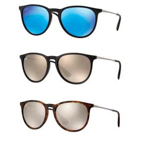 38722ad0b49b4 Oculos Rayban Feminino Espelhado - Óculos De Sol Ray-Ban Erika no ...