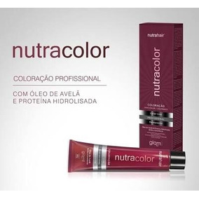 Coloracao Nutra Color Kit Com 10 Unidades Nutrahair