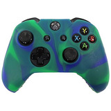 Hde Xbox One Controlador De Piel De Silicona Caucho Protect