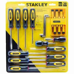 Juego Destornilladores 60-220 Stanley
