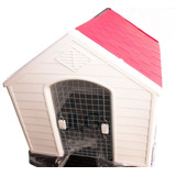 Casa De Perro Grande 104 X 90 X 94 Cm Roja