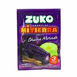 6 Suco Zuko Peruano Bebida Po Chicha Morada Milho Roxo 15g