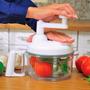 Picador Cortador Secador Manual Verduras Frutas Dinner