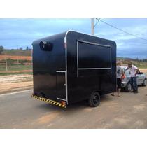 Trailer Food Truck Para Lanches,cachorro Quente,salgados,etc